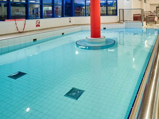 Western swimming pool's little pool